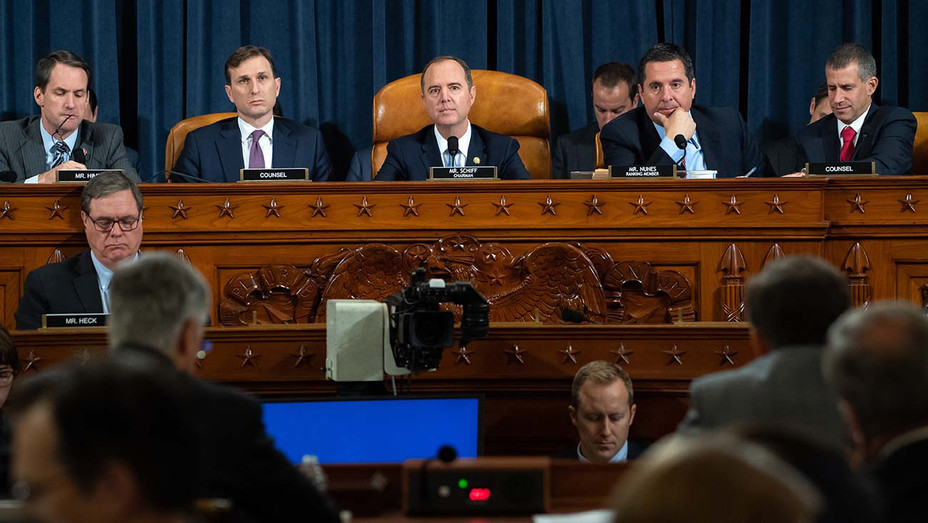 Impeachment inquiry into U.S. President Donald Trump November 13, 2019 - Getty 2-H 2019