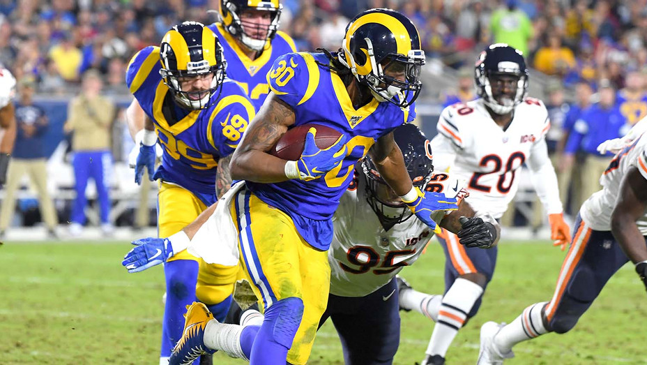 Los Angeles Rams avoids a tackle by defensive Chicago Bears November 17, 2019- Getty - H 2019
