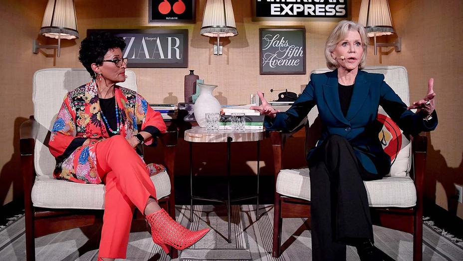 "Peggy Shepard and Jane Fonda - Harper's Bazaar ""Dare I Say"" Live Podcast - Getty-H 2019"