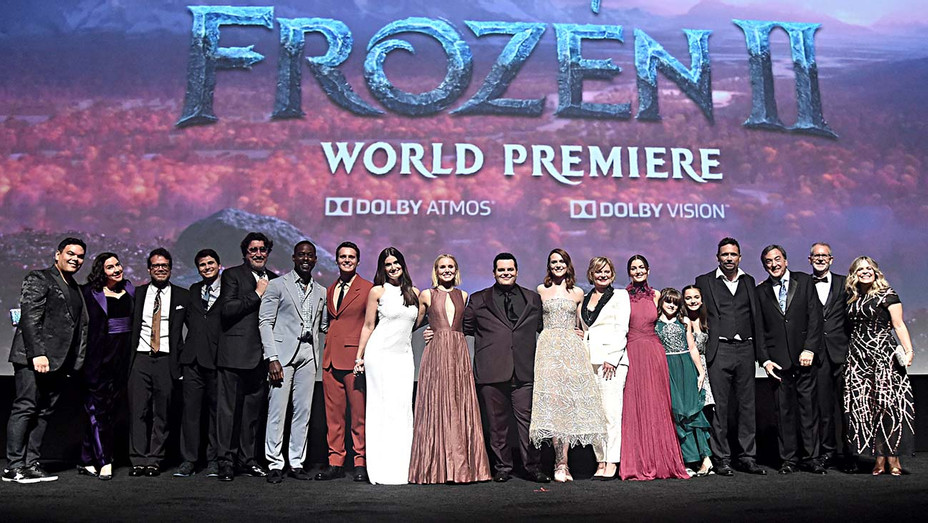 "Disney's ""Frozen 2 at Hollywood's Dolby Theatre Premiere - Cast - Getty-H 2019"