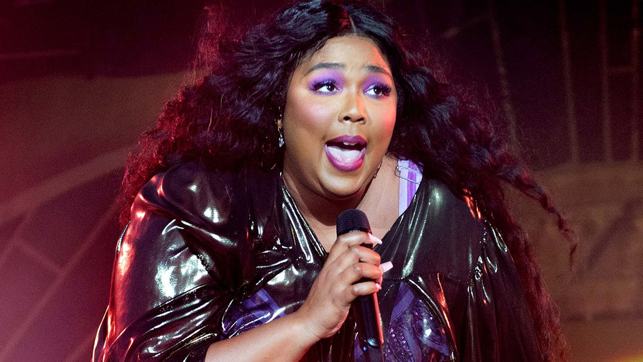 Lizzo performs at Victoria Warehouse on November 11, 2019 - Getty 2- H 2019