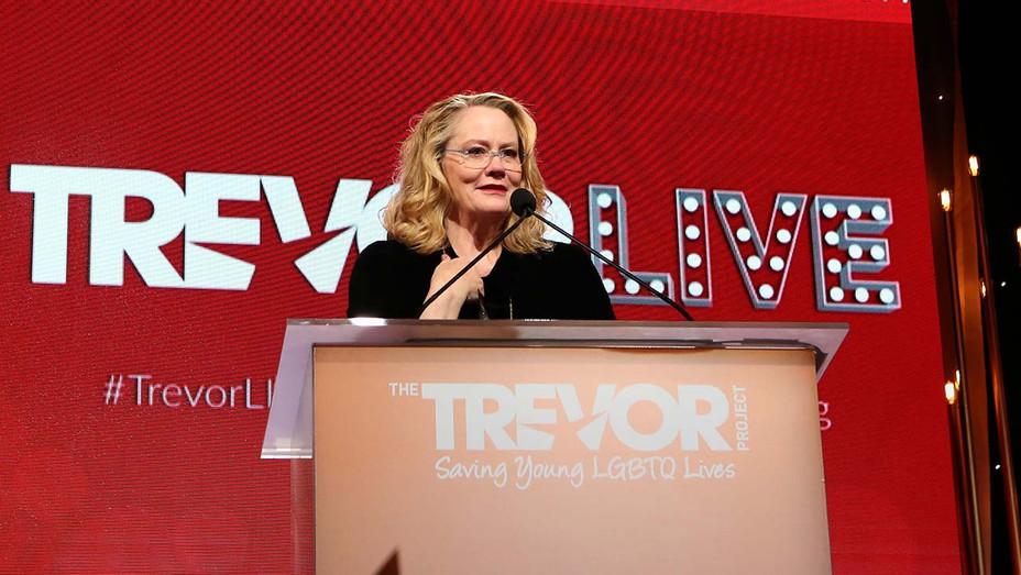 Cybill Shepherd, winner of the Champion Award - The Trevor Project's TrevorLIVE LA 2019 -Getty-H 2019