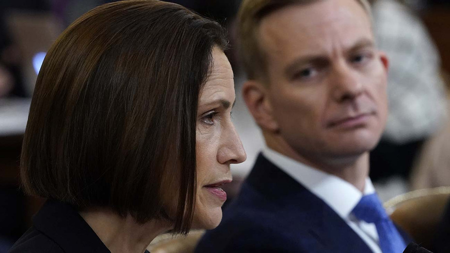 Fiona Hill -open hearings in the impeachment inquiry against U.S. President Donald Trump - Getty-H 2019