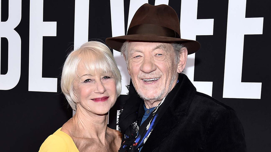 Helen Mirren and Ian McKellen - Getty - H 2019