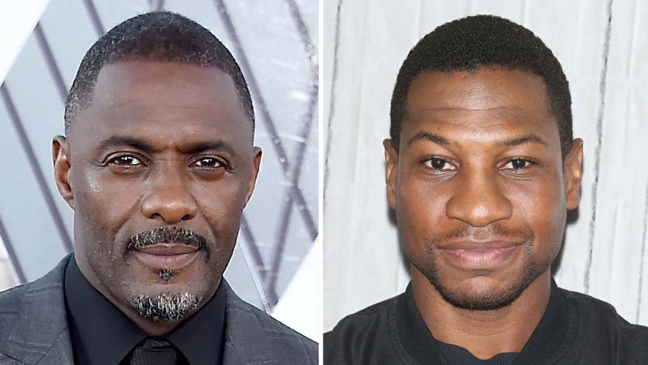 Idris Elba and Jonathan Majors - Getty - Split - H 2019