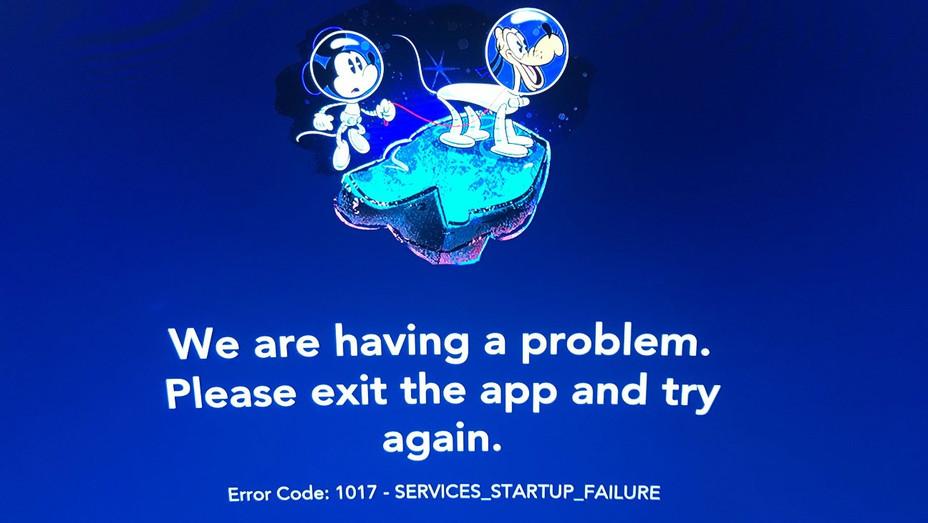 Disney+ Error Page - H 2019