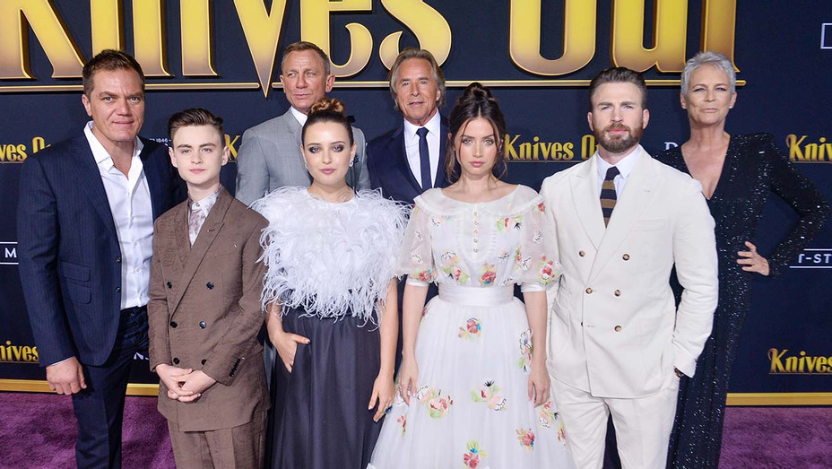 Knives Out Premiere - Getty - H 2019