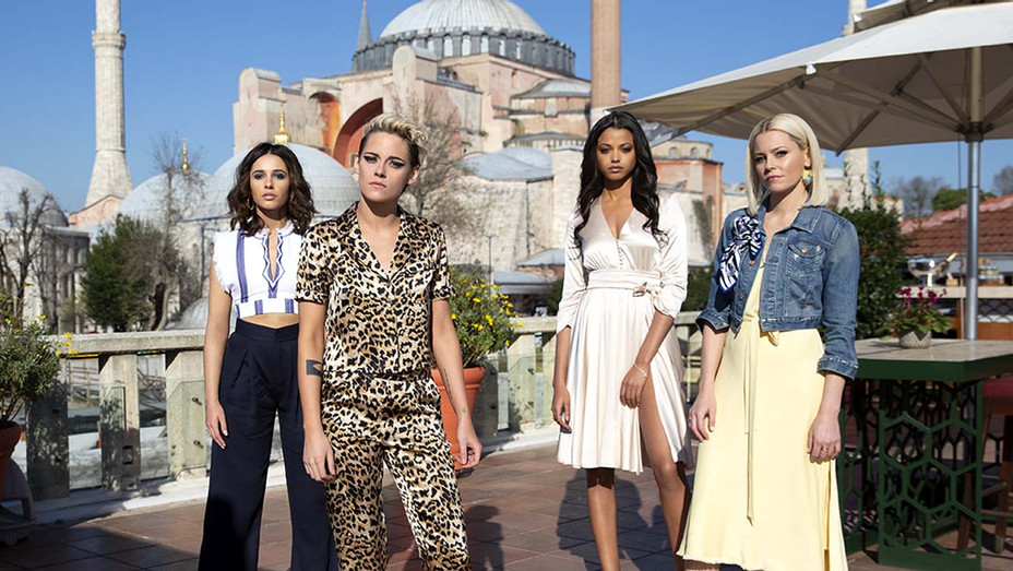 Kristen Stewart, Naomi Scott, Ella Balinska and Elizabeth Banks star in Charlie's Angels - Publicity - H 2019