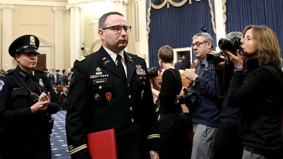 Lt. Col. Alexander Vindman- Getty - H 2019