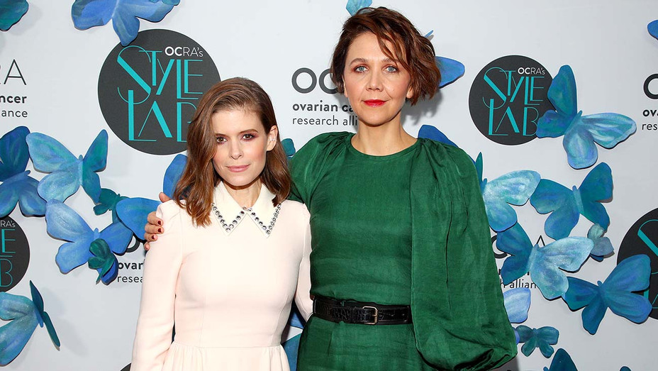 Ovarian Cancer Research Alliance Presents Style Lab - Kate Mara and Maggie Gyllenhaal - Getty-H 2019