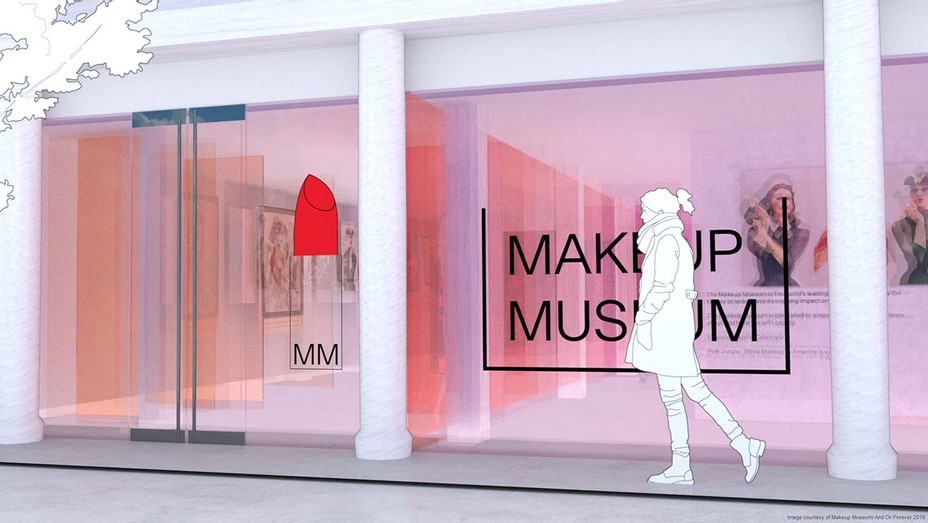 Makeup Museum _ Rendering 1 _ Facade - Publicity - H 2019