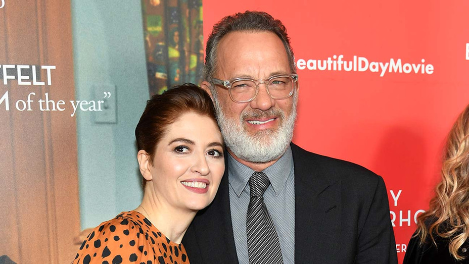 "Marielle Heller and Tom Hanks attend ""A Beautiful Day In The Neighborhood"" New York Screening - Getty- H 2019"