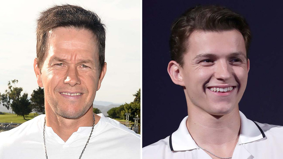 Mark Walhberg and Tom Holland New Split-Getty-H 2019