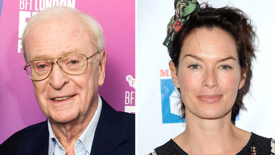 Michael Caine and Lena Heady - Getty - Split - H 2019