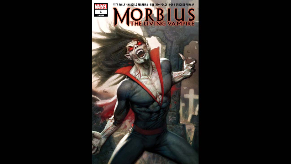 Morbius The Living Vampire - cover - Publicity - H 2019