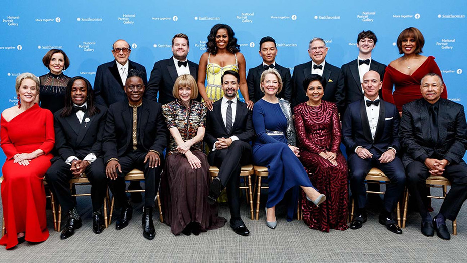 ONE TIME USE ONLY -Honorees and presenters of the 2019 American Portrait Gala at Smithsonian's National Portrait Gallery - Publicity handout - H 2019