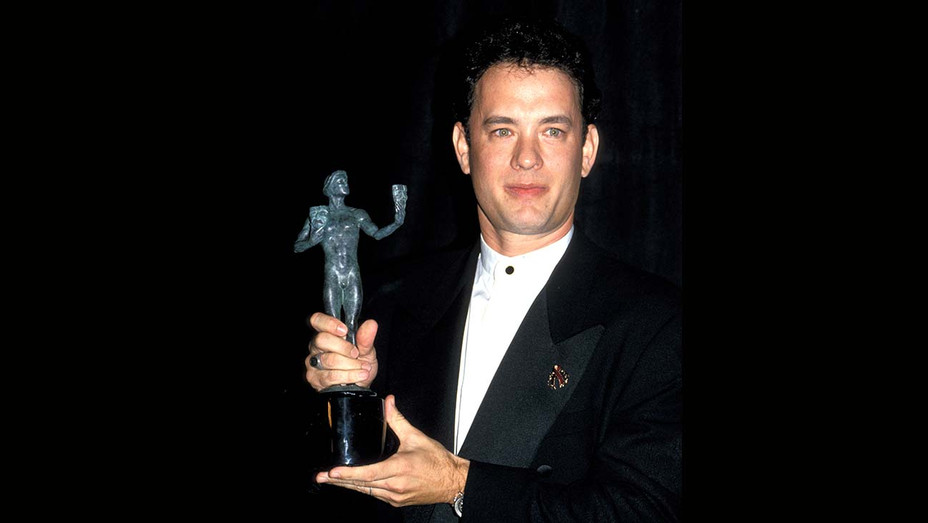 ONE TIME USE ONLY - TOMY HANKS at the 1st Annual Screen Actors Guild Awards - Getty - H 2019