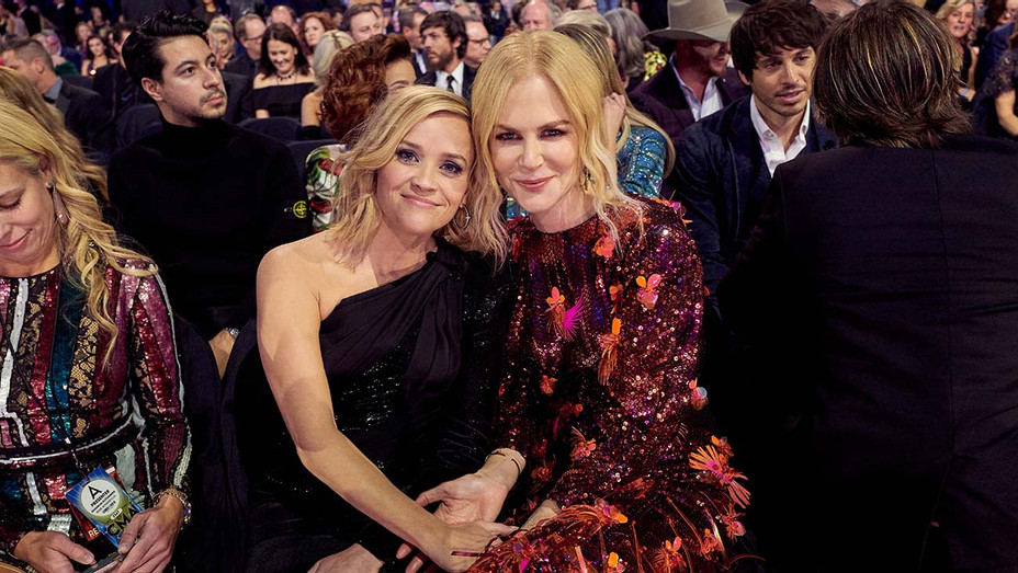 Reese Witherspoon and Nicole Kidman_CMAs - Getty - H 2019