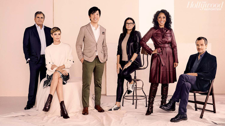 """""""Strap on Your Flak Jacket and Lean Into It"""": Charlize Theron, Peter Chernin and the Producer Roundtable"""