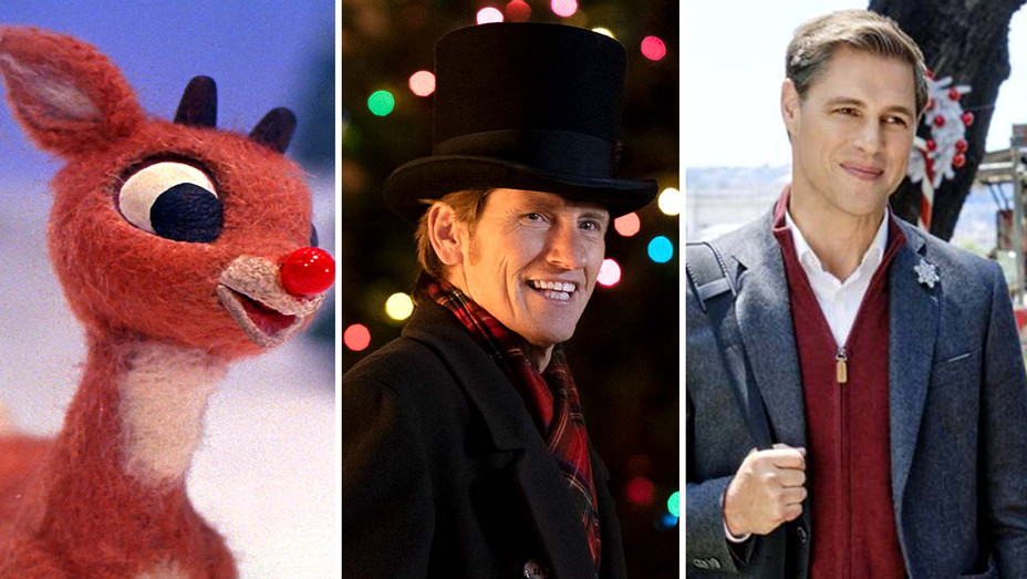 Rudolph The Red-Nosed Reindeer (CBS), The Moodys (Fox) and Christmas in Rome (Hallmark) - Publicity - Split - H 2019
