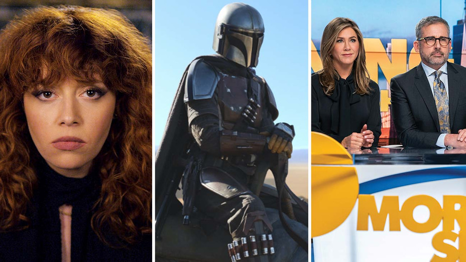 Russian Doll - The Mandalorian - The Morning Show - Publicity Stills - Split - H 2019