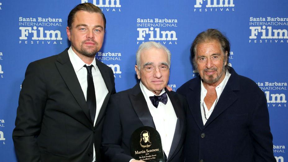 Leonardo DiCaprio, Martin Scorsese, Al Pacino at Santa Barbara Film Festival - H 2019