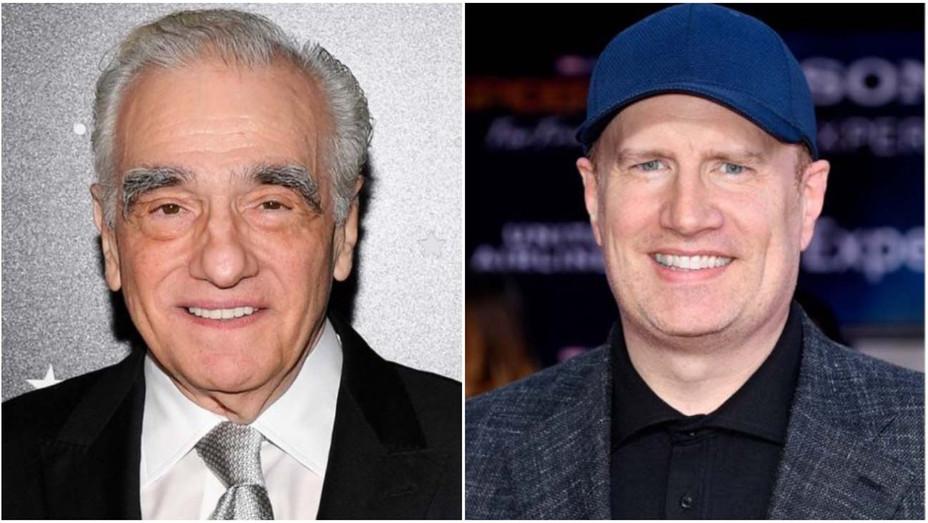 Martin Scorsese, Kevin Feige-Split - Getty - H 2019
