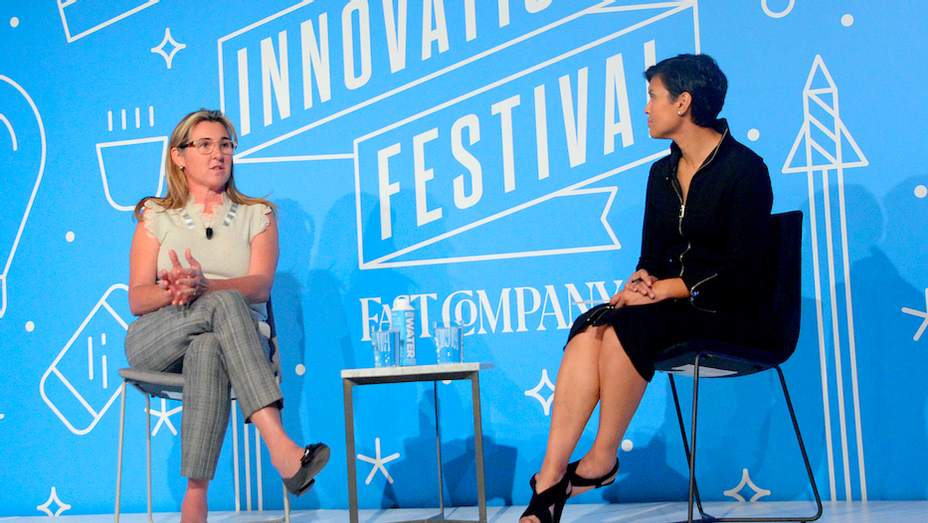 Nancy Dubuc and Stephanie Mehta Fast Company Innovation Festival - Getty
