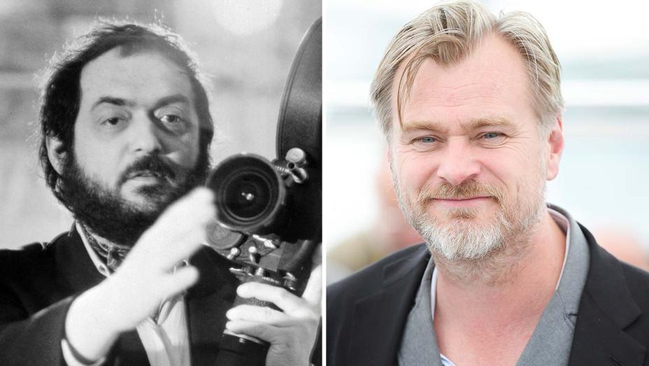 Stanley Kubrick and Christopher Nolan Split -Getty-H 2019
