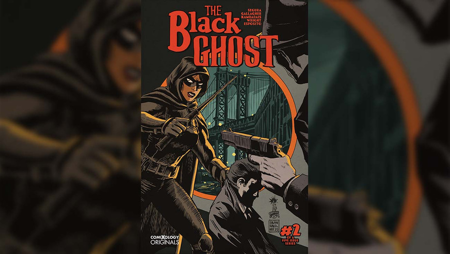 The Black Ghost Cover - Publicity - H 2019