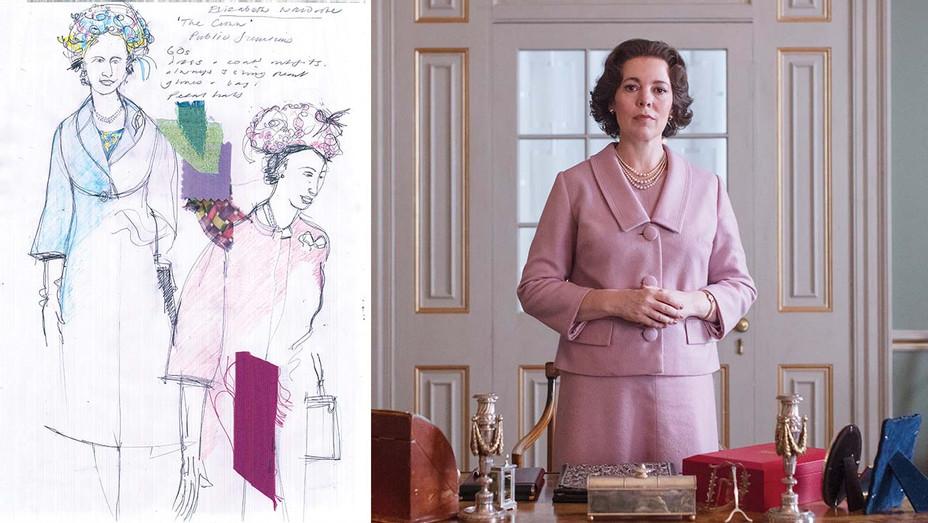 The Crown Sketch Still_Split - Publicity - H 2019