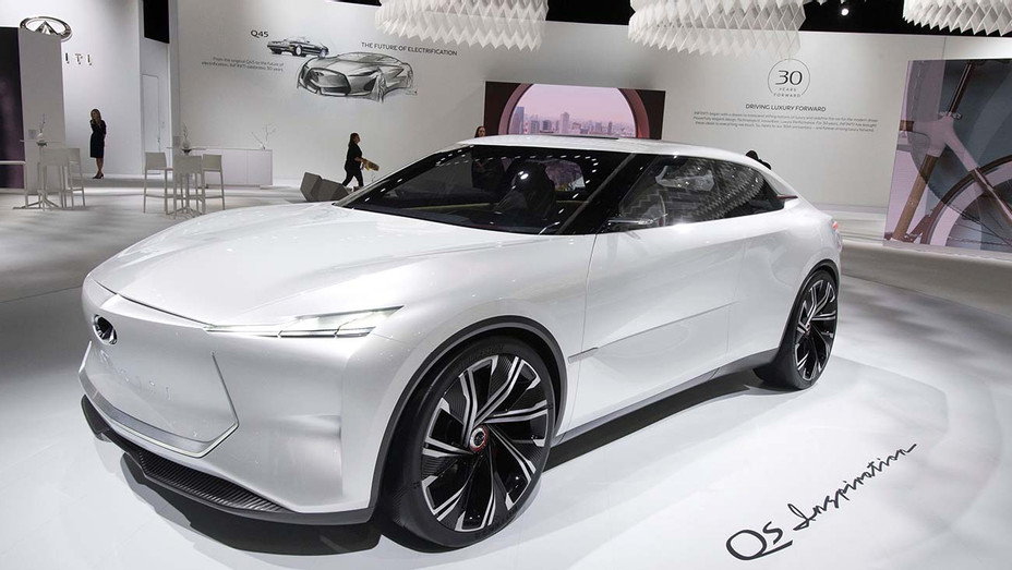 The Infiniti QS Inspiration Concept car - Getty - H 2019