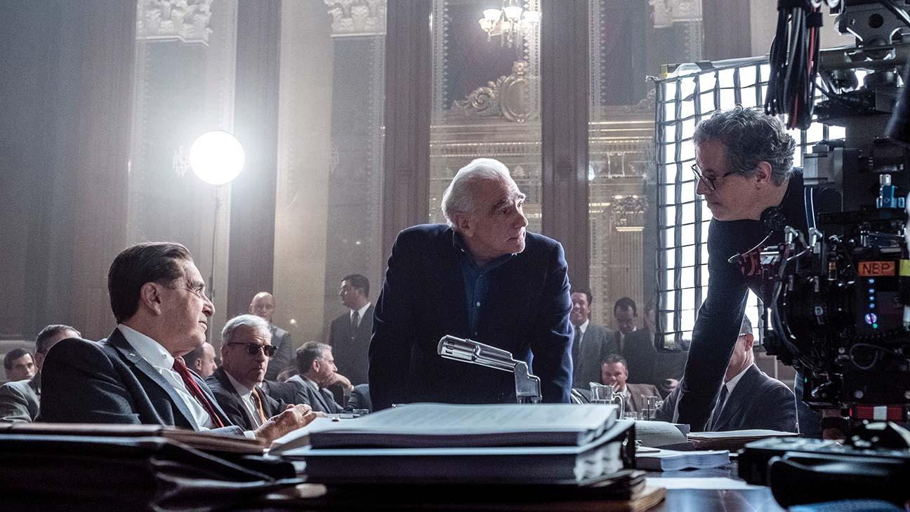Making Of The Irishman Robert De Niro Al Pacino Bring Scorsese S 10 Years In The Making Experiment To The Big Screen Hollywood Reporter
