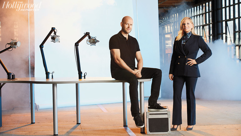 """Spotify's Daniel Ek Has a Plan to Harness Hollywood for Podcasts and Create """"the World's No. 1 Audio Platform"""""""