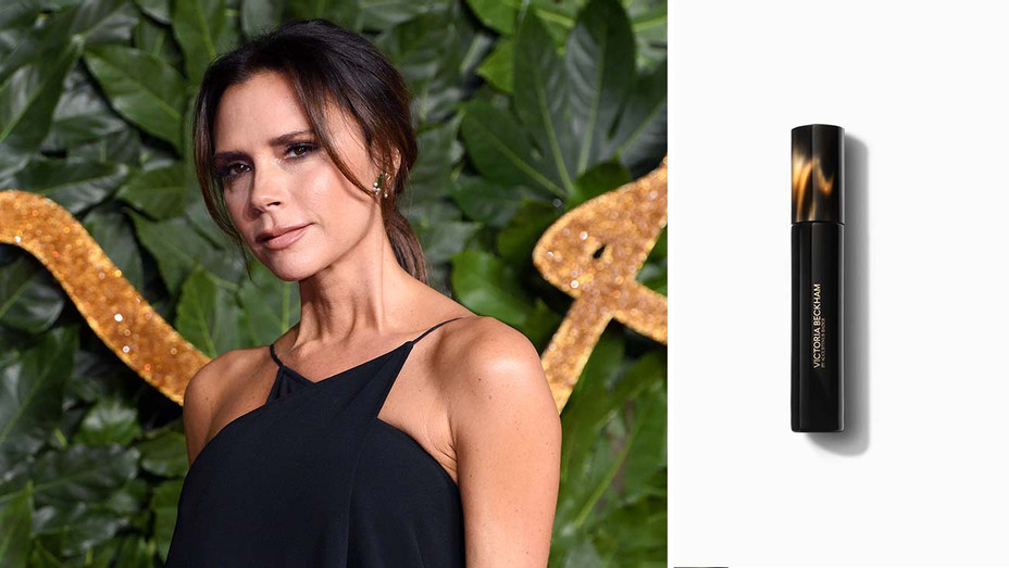 Victoria Beckham  and Beauty Product -Split -Getty-H 2019