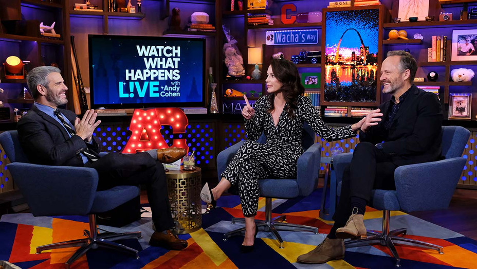 WATCH WHAT HAPPENS LIVE WITH ANDY COHEN- Kristin Davis -John Benjamin Hickey - Publicity Still-H 2019
