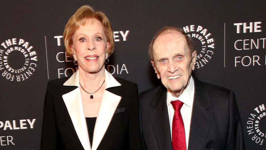 Bob Newhart and Carol Burnett -Paley Center- Publicity -H 2019