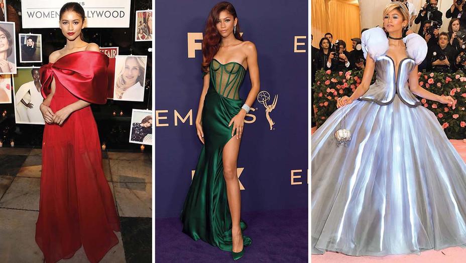 Zendaya's Euphoric Looks- Getty-Split-H 2019