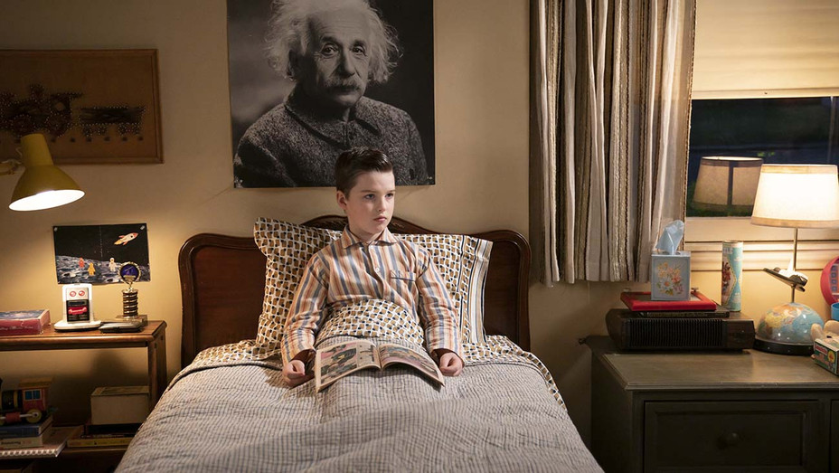 YOUNG SHELDON, Thursday, Dec. 12 - Teenager Soup and a Little Ball of Fib - Iain Armitage- Publicity-h 2019