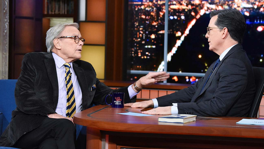 The Late Show with Stephen Colbert  -Tom Brokaw - CBS publicity_H 2019