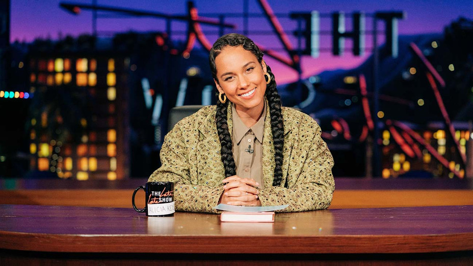 Alicia Keys The Late Late Show - Publicity - H 2019