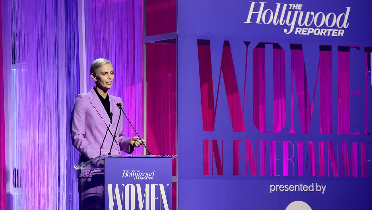 Charlize Theron Presents $1.6M in Scholarships at The Hollywood Reporter's Power 100 Women in Entertainment