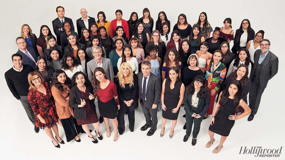 Women in Entertainment Mentorship Class Photo - Photographed by Jai Lennard - H 2019