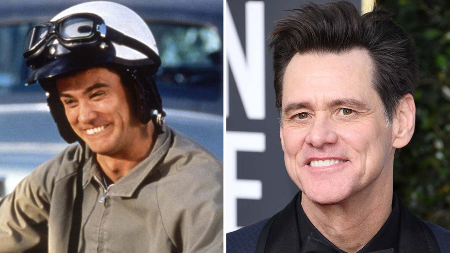 Dumb and Dumber Cast Where Are They Now - Jim Carrey Split- Getty-H 2019