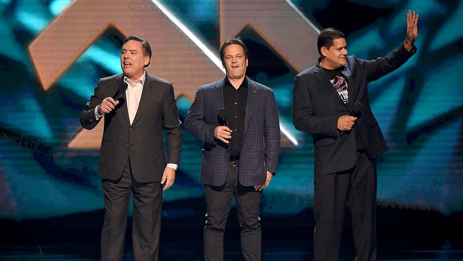 2018 The Game Awards, Shawn Layden, Phil Spencer and Reggie Fils-Aime - Publicity - H 2019