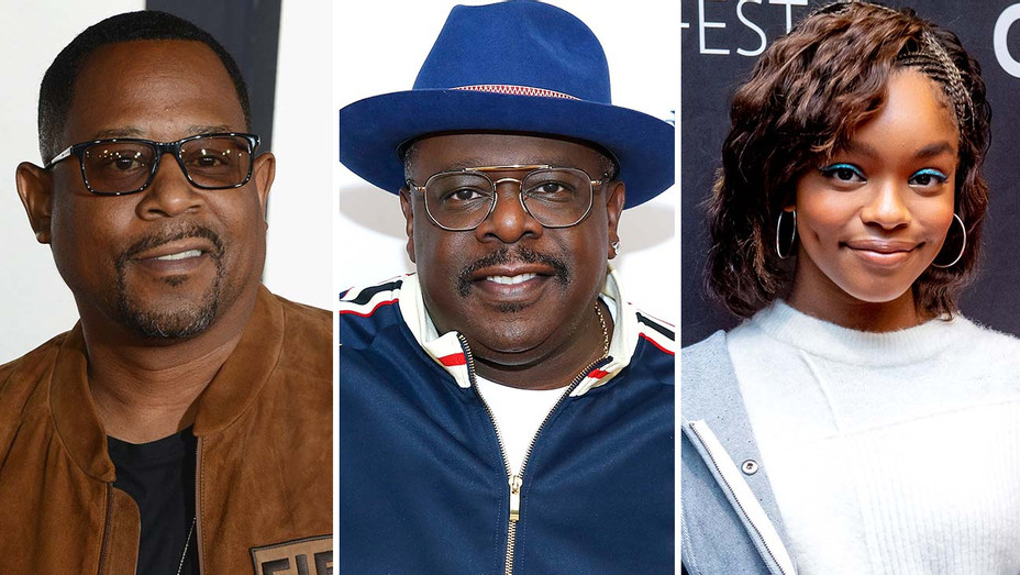 Martin Lawrence, Cedric the Entertainer and Marsai Martin- Split-Getty-H 2019