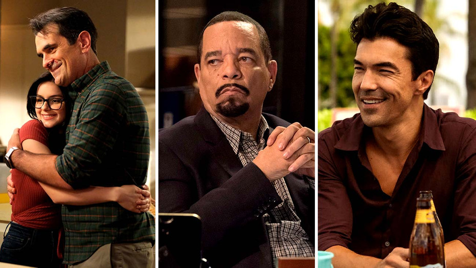 Modern Family (ABC), Law & Order: SVU (NBC) and Hawaii Five-0 (CBS) - Publicity Stills - Split -H 2019