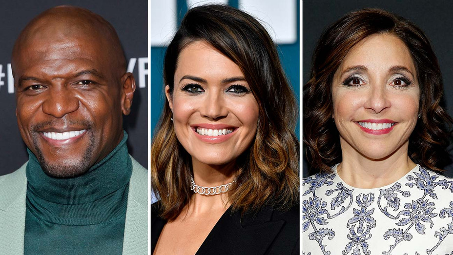 Terry Crews, Mandy Moore, and Linda Yaccarino- Split-Getty-H 2019