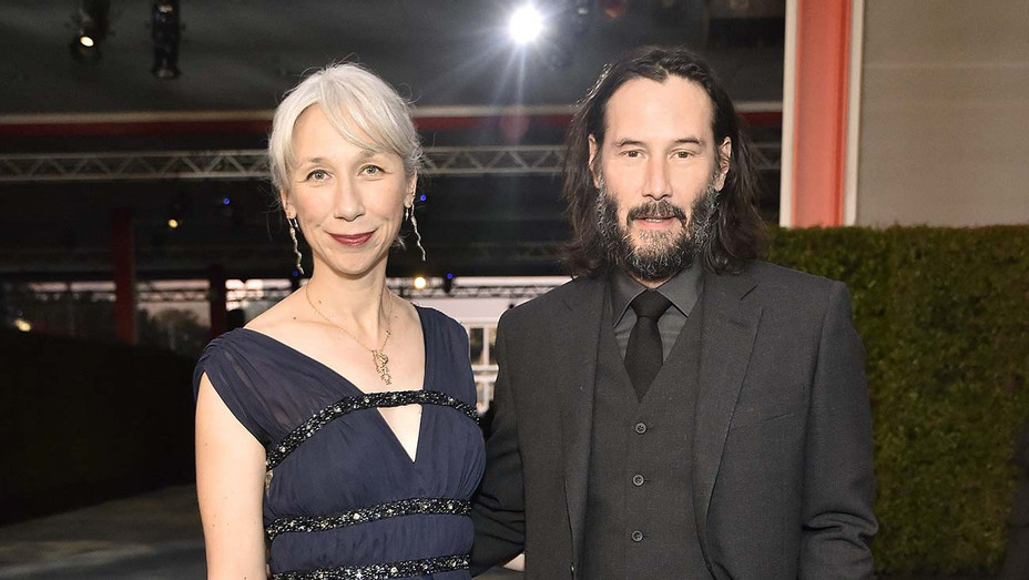 Alexandra Grant and Keanu Reeves 2 - Getty - H 2019