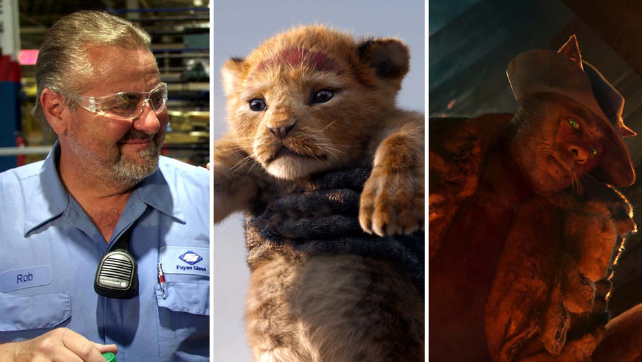 'American Factory,' 'The Lion King' and 'Cats' - Publicity Stills - Split - H 2019